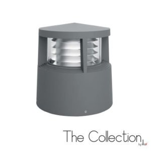 Luminario mini poste para sobreponer The Collection by Illux PF-2019.G