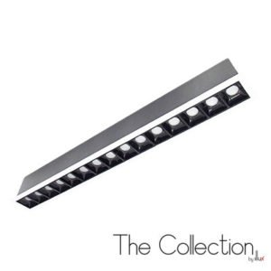 Luminario para empotrar en techo The Collection by Illux Raster TL-2830.B