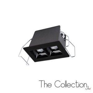 Luminario para empotrar en techo The Collection by Illux Raster TL-2804.N