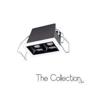 Luminario para empotrar en techo The Collection by Illux Raster TL-2804.B
