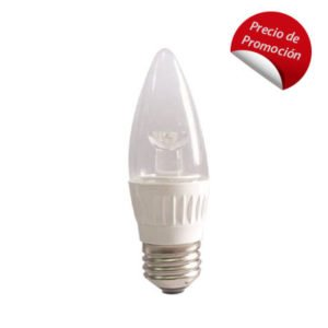 Lámpara LED tipo vela FL-10B11E26.530