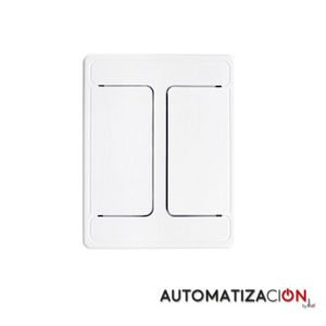 Apagador 2 botones AM-4202.B