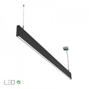 Luminario LED Illux de suspender en techo interconectable TL-1340.N40