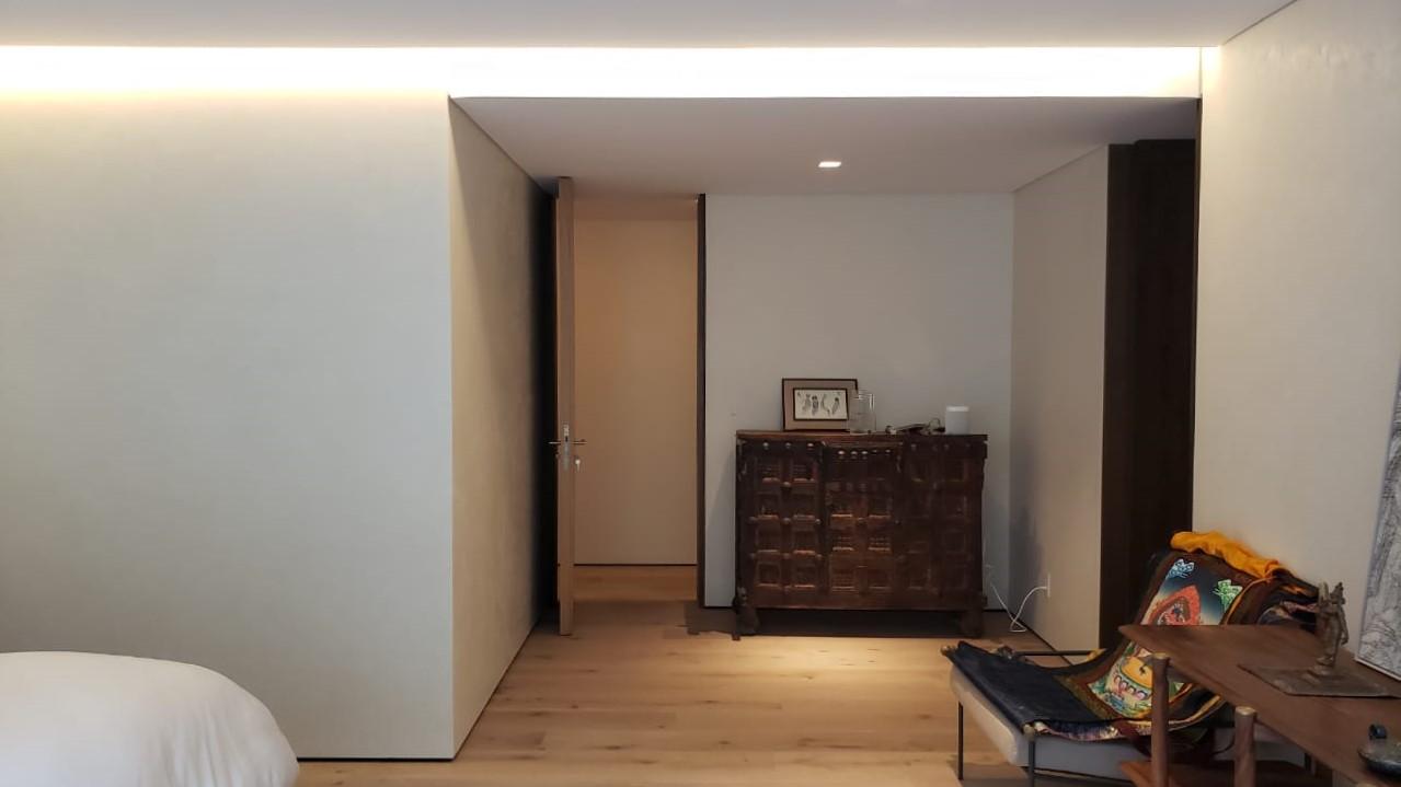 iluminación en habitación